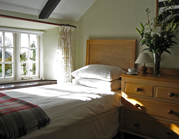 The Third Bedroom Of Blisland Cottage A Charming 17th
